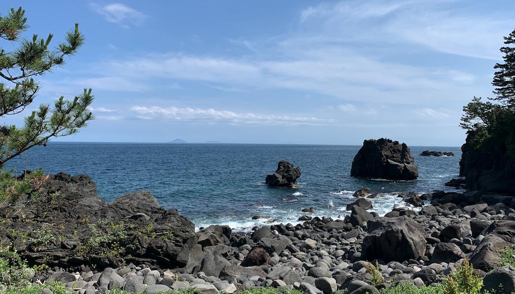 城ヶ崎海岸の風景
